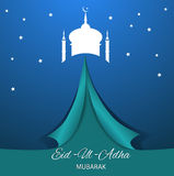 Religious background  design for Eid eps 10 Stock Photo