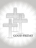 Religious background for good friday. Royalty Free Stock Photos