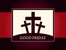 Religious background for good friday. Stock Photography