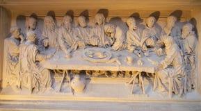 Religious bas-relief Royalty Free Stock Photo