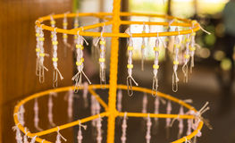 Religious Beaded Garlands, Buddhism Royalty Free Stock Photography