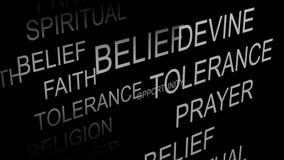Religious Belief animation Royalty Free Stock Photos