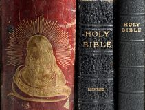 Religious Book Spine Royalty Free Stock Photo