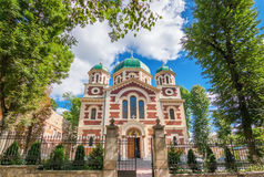 Religious building in the city of Lviv. Stock Images
