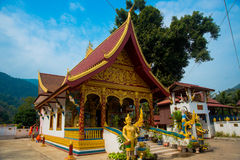 Religious building in Laos. Stock Image