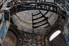 Religious building ruin XVIII Royalty Free Stock Image