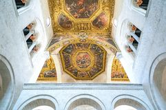 The religious buildings of Bari royalty free stock photography