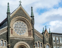 Religious bulding architecture - church art Stock Photo