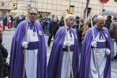 Religious celebrations of Easter Week, Spain Stock Photography