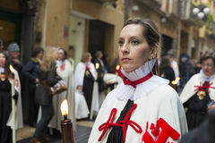 Religious celebrations of Easter Week, Spain Stock Photos