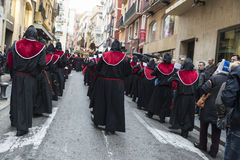 Religious celebrations of Easter Week, Spain Royalty Free Stock Images