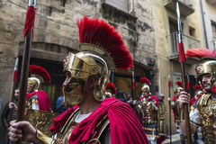 Religious celebrations of Easter Week, Spain Stock Images