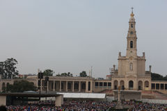 Religious celebrations of May 13, 2015 in the Sanctuary of Fatima - Portugal Stock Photo