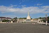 The religious center in the small city of Fatima Royalty Free Stock Photo