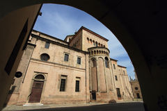 Religious centre of Parma Stock Photography