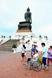 Religious ceremony on Asarnha Bucha Day Stock Image