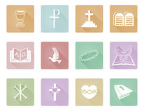 Religious Christian Icons Stock Photography