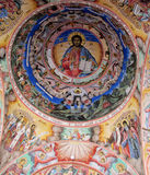 Religious Christian Painting In The Church Royalty Free Stock Photo