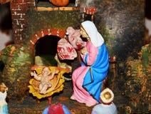 Religious Christmas decorations Stock Photo