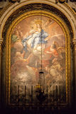 Religious church painting Royalty Free Stock Image
