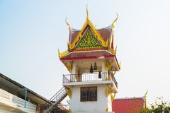 The religious complex the city of Nakhon Ratchasima. Thailand. Stock Image