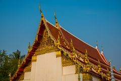 The religious complex the city of Nakhon Ratchasima. Thailand. Stock Photos