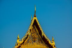 The religious complex the city of Nakhon Ratchasima. Thailand. Royalty Free Stock Images