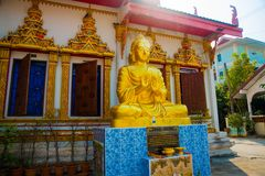 The religious complex. Khon Kaen.Thailand. Stock Photos