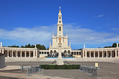 The religious complex Portuguese town of Fatima Stock Image