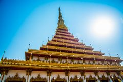 The religious complex Wat Nanguang Muang. Khon Kaen.Thailand. Royalty Free Stock Photos