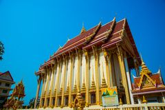 The religious complex What That. Khon Kaen.Thailand. Royalty Free Stock Image