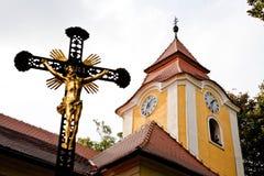 Religious cross Stock Images