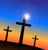 Religious Crosses Royalty Free Stock Photography