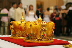 Religious crowns Stock Images