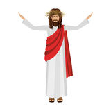 Religious design of jesus christ Royalty Free Stock Photography