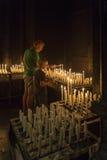 Religious Devotions - Maastricht - Netherlands Stock Photo
