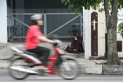 Religious diversity in indonesia Stock Images