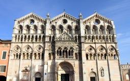 Religious edifice in Ferrara Stock Photography