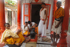 Religious Education in India Stock Photography
