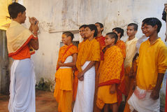 Religious Education in India Stock Images