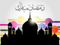 Religious eid background Royalty Free Stock Photos