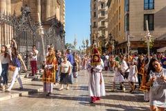 Religious event in Málaga Stock Photo