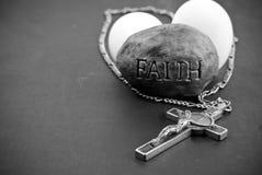 Religious Faith. (Easter Holiday Concept royalty free stock photos