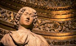 Religious figure siena Royalty Free Stock Photos