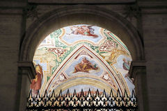 Religious fresco in the Basilica of St. John Stock Photography