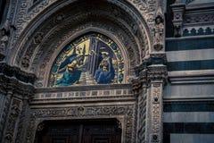 Religious fresco florence Royalty Free Stock Photography