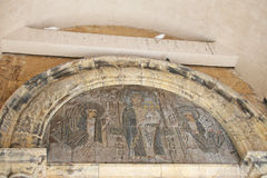 Religious fresco Stock Photography