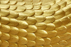 Religious golden scales Stock Photography
