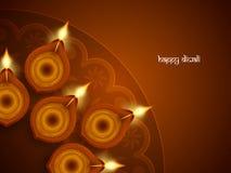 Religious happy diwali background design. Royalty Free Stock Photos