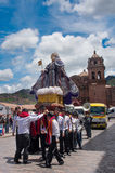 Religious  holiday in Cuzco, Peru Stock Images